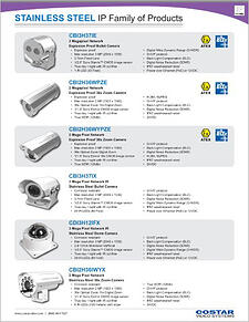 COVERsmO - EH_Costar Video Systems - Stainless Steel Handout - IP_0419